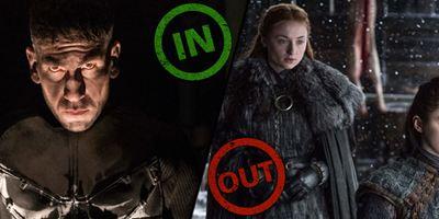 Die INs & OUTs der Woche mit dem pöbelnden Punisher und nervigen Stark-Schwestern