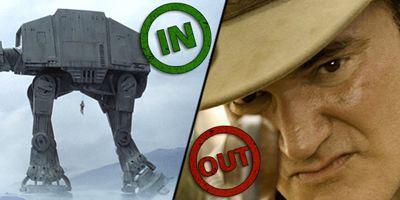 """Die INs & OUTs der Woche mit einem selbstgebauten """"Star Wars""""-Kampfläufer und dem Schweigen im Weinstein-Skandal"""