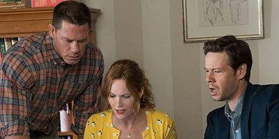 """""""Der Sex-Pakt"""" ihrer Töchter versetzt John Cena und Leslie Mann im neuen Trailer zur Komödie in Panik"""