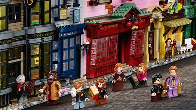 """""""Harry Potter""""-LEGO-Set mit mehr als 5.500 Steinen für 390 Euro: Ist die Winkelgasse so viel wert?"""