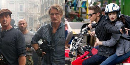 """US-Charts: """"The Expendables 2"""" schießen """"Das Bourne Vermächtnis"""" von der Spitze"""