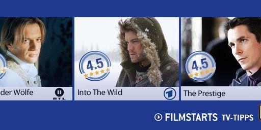 Die Filmstarts-TV-Tipps (8. bis 14. Februar 2013)