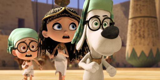 """Ein Hund und ein Junge schreiben Geschichte im neuen Trailer zu """"Die Abenteuer von Mr. Peabody & Sherman"""""""