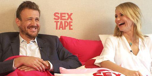 """Der erste Film mit einer Sex-Stuntfrau: exklusives FILMSTARTS-Interview mit Cameron Diaz, Jason Segel und Rob Lowe zu """"Sex Tape"""""""