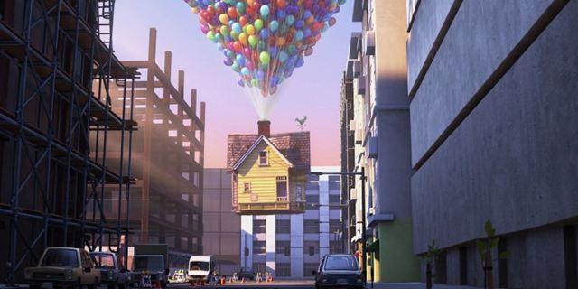 """Traurig, aber wahr: Dem hübschen Häuschen aus Pixars """"Oben"""" droht die Abrissbirne"""