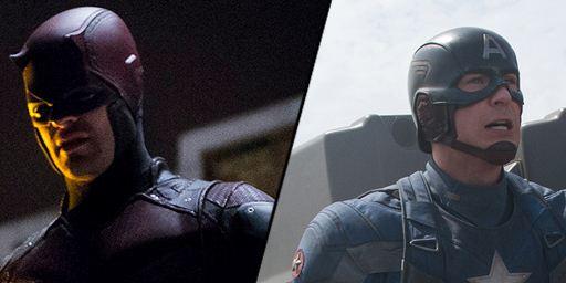 """""""Butt share"""": Diese überraschende Gemeinsamkeit haben """"Captain America 2"""" und """"Daredevil""""…"""