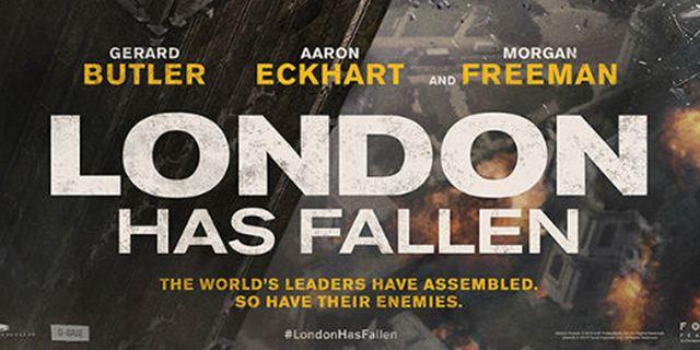 """London in Schutt und Asche: Das erste Poster zum Action-Thriller """"London Has Fallen"""" zeigt die Zerstörung des Big Ben"""