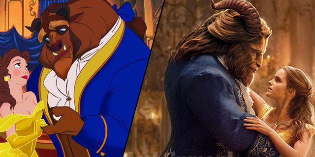 """""""Die Schöne und das Biest"""": Bild-für-Bild-Vergleich des Disney-Animationsklassikers mit der Neuauflage mit Emma Watson"""