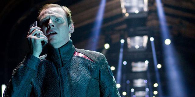 """Simon Pegg deutet Arbeit an """"Star Trek 4"""" an"""