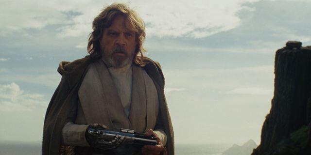 """""""Star Wars 8: Die letzten Jedi"""": Mark Hamill und Rian Johnson erklären Luke Skywalkers großen Moment"""