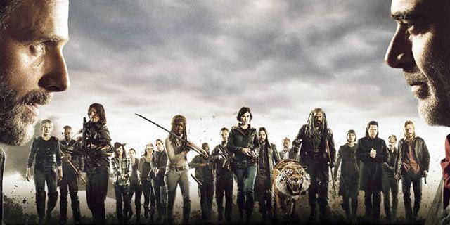 """Mit Rick Skywalker und Carol Organa: Neues """"Walking Dead""""-Poster orientiert sich an """"Star Wars 8: Die letzten Jedi"""""""