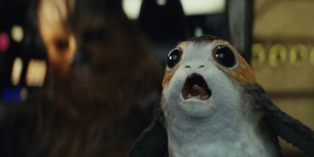 """""""Star Wars 8: Die letzten Jedi"""": Die süßen Porgs gibt es nur, weil es technisch offenbar nicht ohne die Vogelviecher ging"""