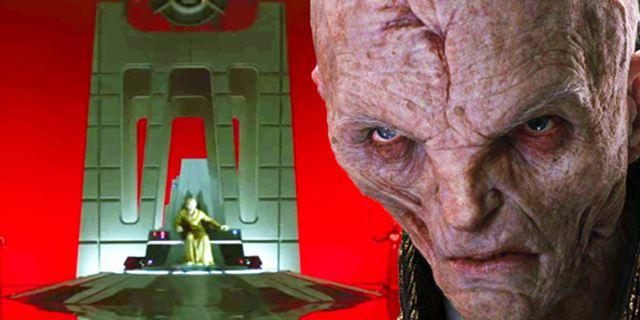 """Snokes Schicksal in """"Star Wars 9"""": Spannende Fan-Theorien, wie es mit dem """"Star Wars 8""""-Bösewicht weitergehen könnte"""