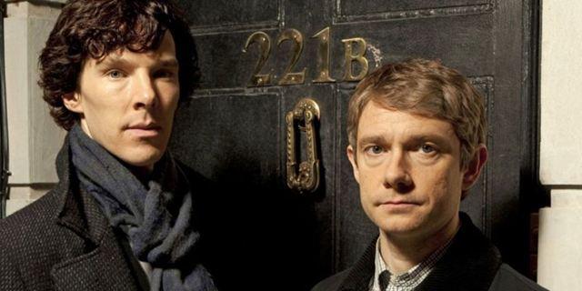 """Sherlock rüffelt Watson: Benedict Cumberbatch findet Martin Freemans Klagen über die Erwartungen der Fans """"armselig"""""""