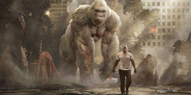 """Vom """"Scorpion King"""" zum Blockbuster-König: Die erstaunliche Karriere des """"Rampage""""-Stars  Dwayne Johnson"""