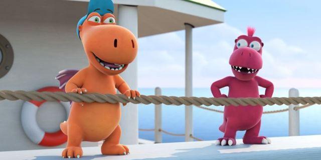 """Im Trailer zu """"Der kleine Drache Kokosnuss 2"""" geht es ins Drachen-Dschungelcamp"""
