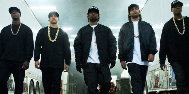 """Echte Schießerei und ein Todesopfer: Der Horror-Dreh von """"Straight Outta Compton"""""""