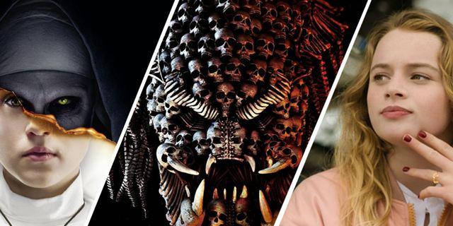 """Deutsche Kinocharts: """"Predator - Upgrade"""" ohne Chancen gegen """"The Nun"""""""