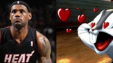 """Sportlicher Sequel-Traum: NBA-Star LeBron James möchte Fortsetzung zu """"Space Jam"""" drehen"""