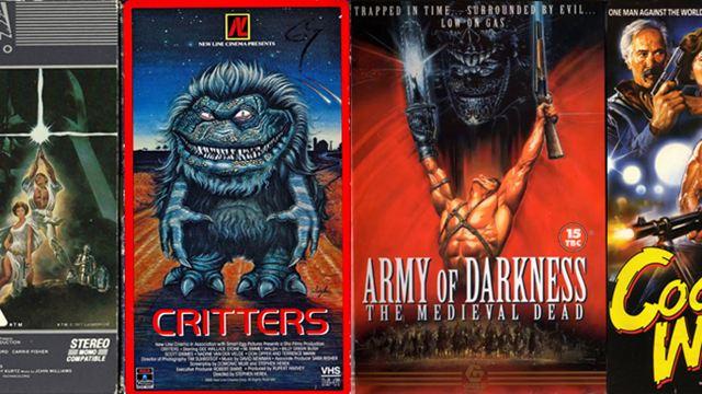 FILMSTARTS feiert das Ende einer Ära: 50 der schönsten VHS-Cover!