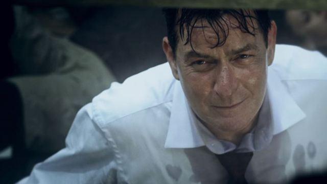 """Gefangen im Aufzug: Im neuen Trailer versuchen Charlie Sheen und Whoopi Goldberg, """"9/11"""" zu überleben"""