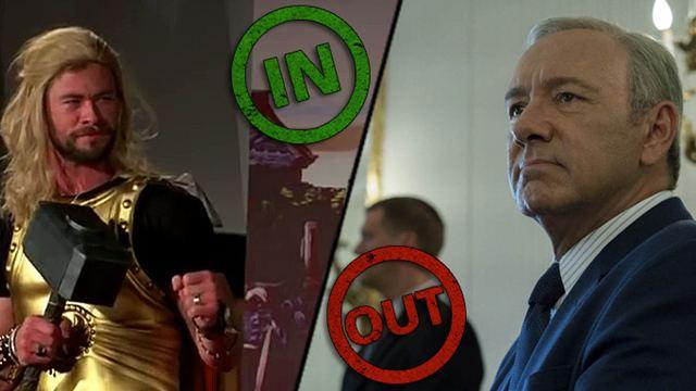 """Die INs & OUTs der Woche mit einer Live-Aufführung von """"Thor 3"""" und sexueller Belästigung in Hollywood"""