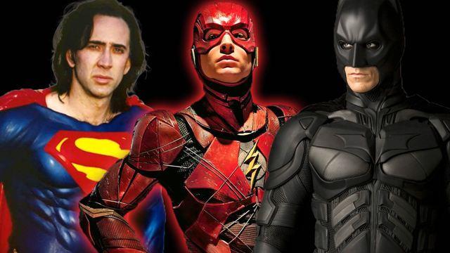 """Casting-Hammer für """"The Flash""""? Nicolas Cage als Superman und noch mehr Batmen in der Gerüchteküche"""