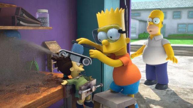 """Netflix-Hit, Pixar-Klassiker und Marvel-Multiverse: Die ersten Bilder zur neuen Horror-Episode der """"Simpsons"""" sind da!"""