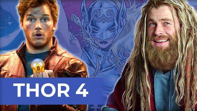 """So abgefahren soll """"Thor 4"""" werden: Weltraumhaie, Star-Lord und Donnergöttin Jane Foster"""