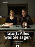Tatort: Alles was Sie sagen
