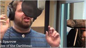 """Von Jack Sparrow bis Mickey Mouse: Ein Stimmenimitator singt """"Let It Go"""" – mit den Stimmen von mehr als 20 verschiedenen Disney-Figuren"""