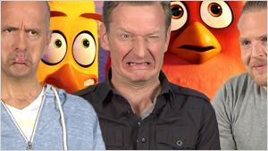 """""""Ich kenn mich doch gar nicht aus!"""": Das FILMSTARTS-Quiz zu """"Angry Birds - Der Film"""" mit Christoph Maria Herbst, Axel Stein und Michael Kessler"""