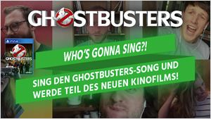 """""""Who's gonna sing?!"""": Sing den kultigen """"Ghostbusters""""-Song und werde Teil des neuen Kinofilms"""