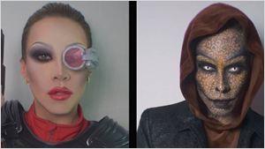 """Instagram-Hype um """"Suicide Squad"""": Eine Dragqueen verkleidet sich als die verschiedenen Mitglieder des Bösewicht-Teams"""