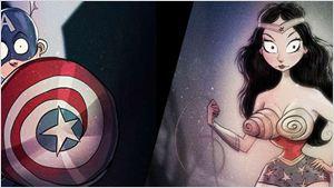 Sonderbare Superhelden: So würden Spider-Man & Co. aussehen, wenn Tim Burton sie entworfen hätte