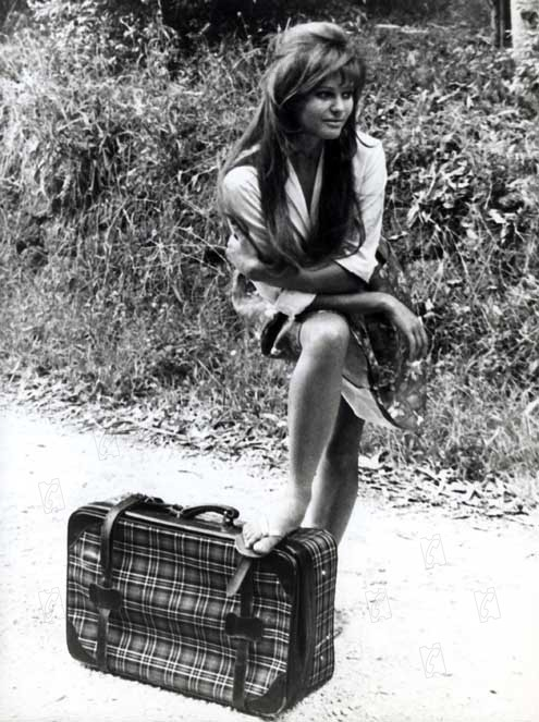 bild zu claudia cardinale das m dchen mit dem leichten gep ck bild claudia cardinale. Black Bedroom Furniture Sets. Home Design Ideas
