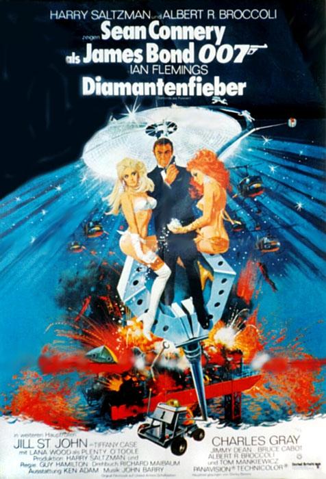 james bond 007 diamantenfieber film 1971. Black Bedroom Furniture Sets. Home Design Ideas