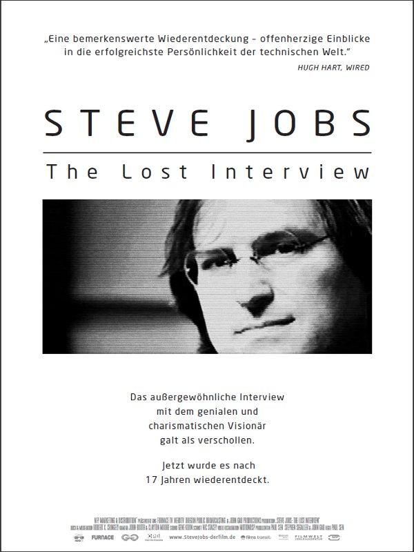 steve jobs the lost interview die filmstarts kritik auf. Black Bedroom Furniture Sets. Home Design Ideas