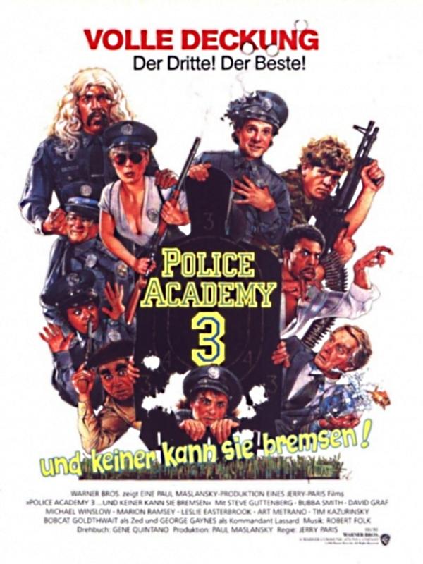 Police Academy 3 Besetzung