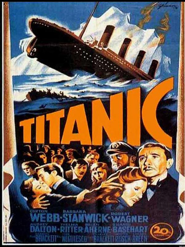 Titanic Filmplakat