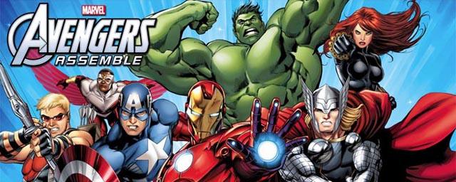 Hulk iron man thor und co sorgen f r gerechtigkeit in - Dessin anime avengers ...