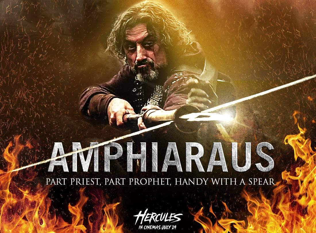 """Hercules"": Ian McShane als Seher Amphiaraus auf coolem ..."