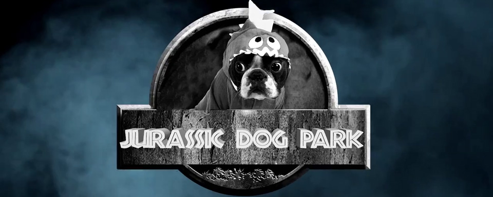 who let the dogs out jurassic world mit kindern in der trailer parodie jurassic dog park. Black Bedroom Furniture Sets. Home Design Ideas