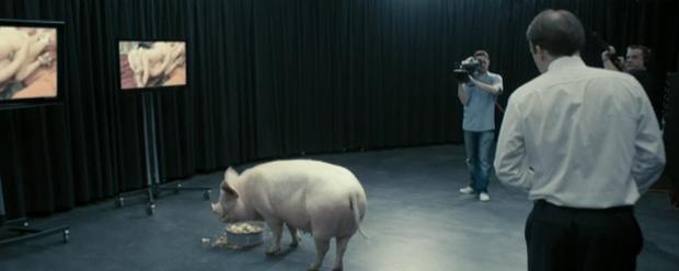 Black Mirror Schwein