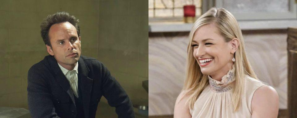 The Big Bang Theory Beth Behrs Und Walton Goggins In Staffel 11