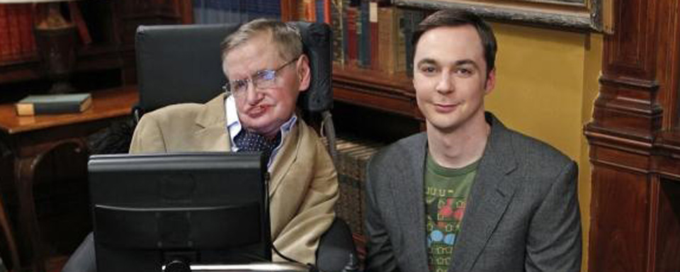 Stephen hawking in the big bang theory und die simpsons for Lee signature homes