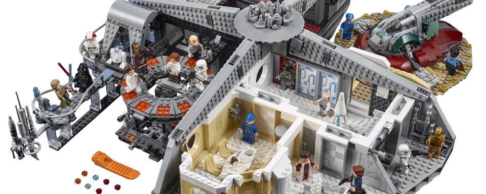 lego review zum 350 euro star wars set verrat in cloud city kino news. Black Bedroom Furniture Sets. Home Design Ideas