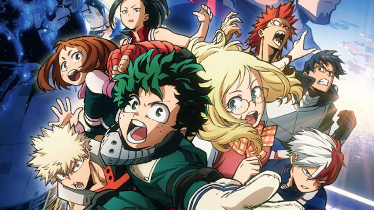 Superhelden Anime