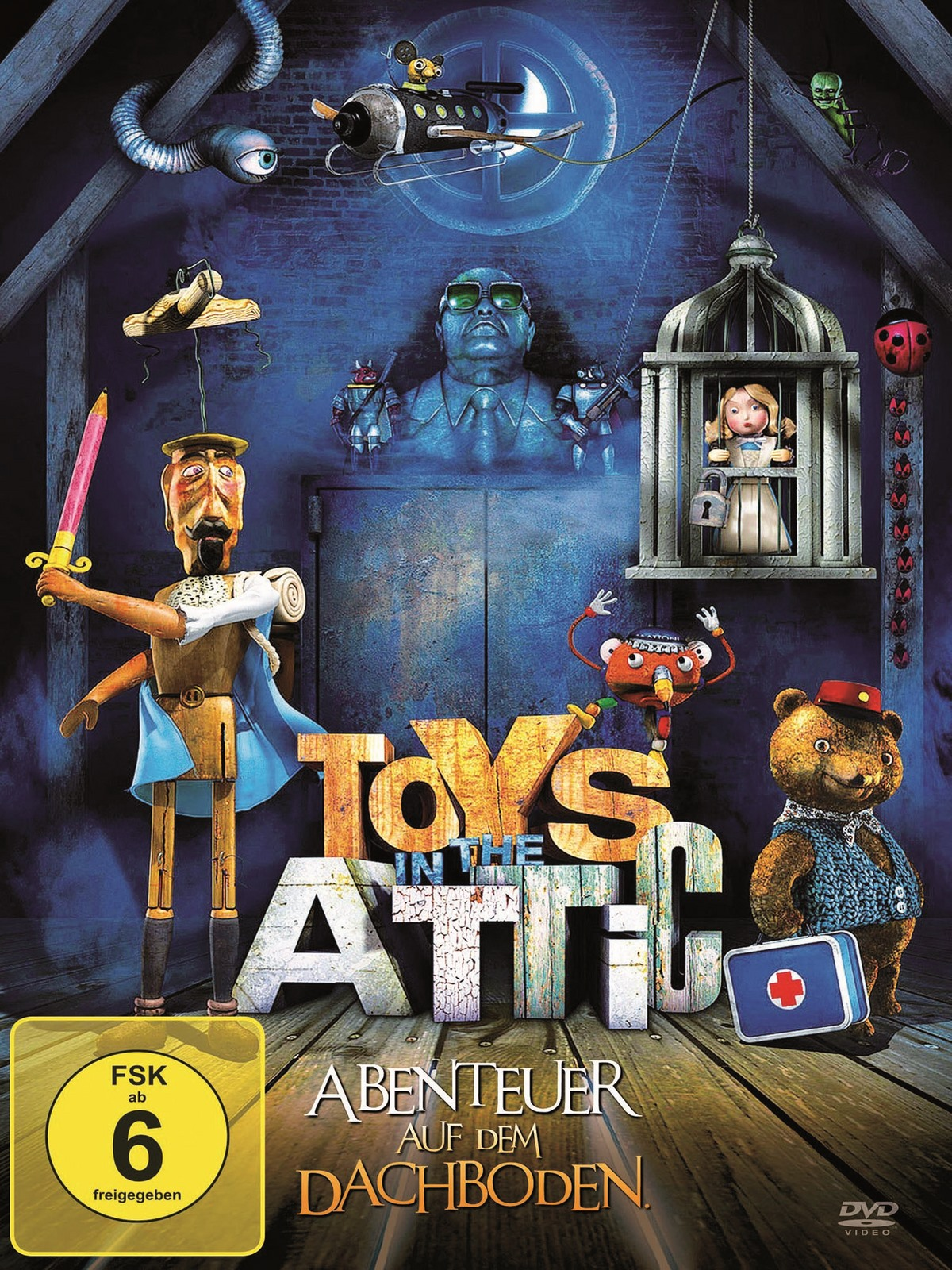 toys in the attic abenteuer auf dem dachboden film 2009. Black Bedroom Furniture Sets. Home Design Ideas