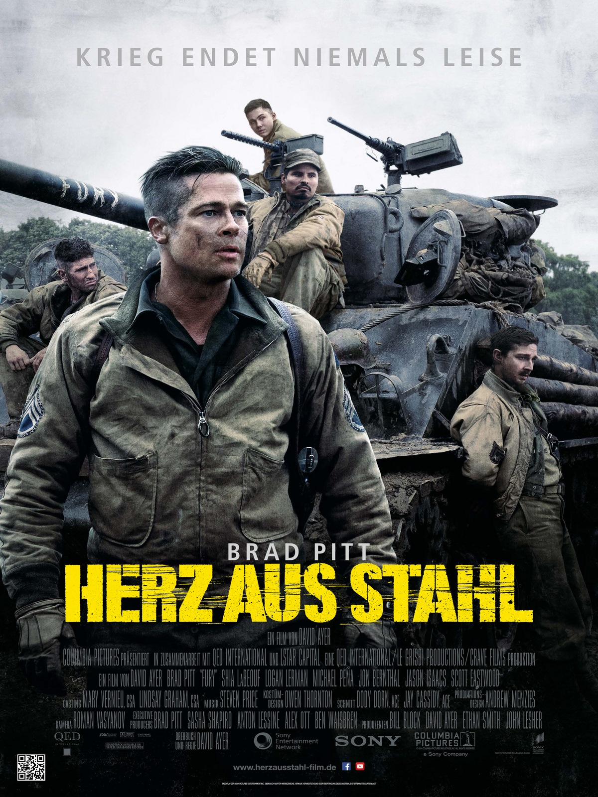 Film Fury Herz Aus Stahl